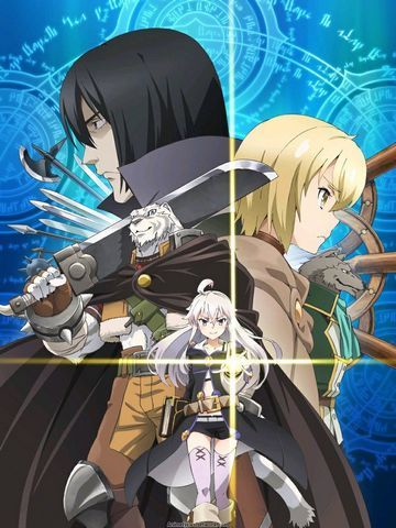 Гримуар Зеро / Grimoire of Zero (2017) [1-12 из 12]