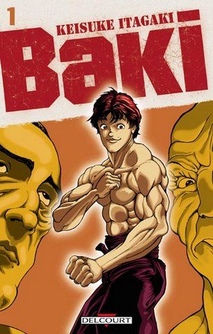 Боец Баки (ОВА-1) / Grappler Baki: The Ultimate Fighter (1994) OVA-1