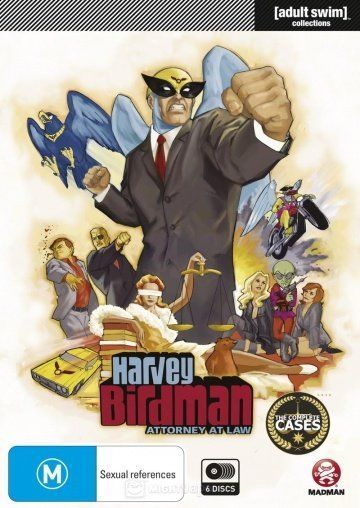 Харви Бердмэн, адвокат / Harvey Birdman, Attorney at Law (2000) (4 сезона)